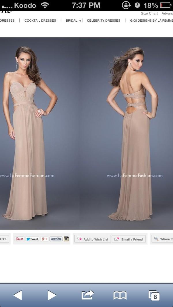 dress prom dress la femme