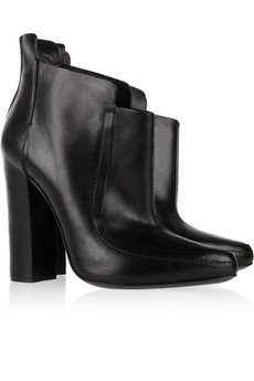 Alexander Wang Kim leather ankle boots - 53% Off Now at THE OUTNET