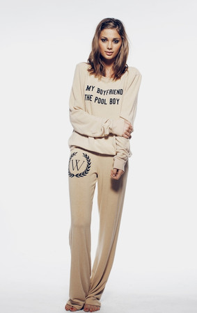 MY BOYFRIEND'S A POOL BOY- BAGGY BEACH JUMPER at Wildfox Couture GHSTN ($100-200) - Svpply