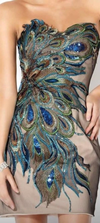 dress paon robe bustier robe de soirée