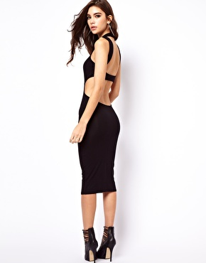 ASOS | ASOS Cut-Out Back Polo Dress at ASOS