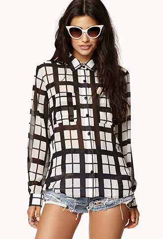 Mod Grid Shirt | FOREVER21 - 2076542331