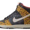 Nike wmns dunk high skinny black leopard animal atmos womens shoes 429984 011 | ebay