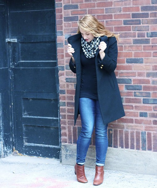 scarf houndstooth infinity scarf