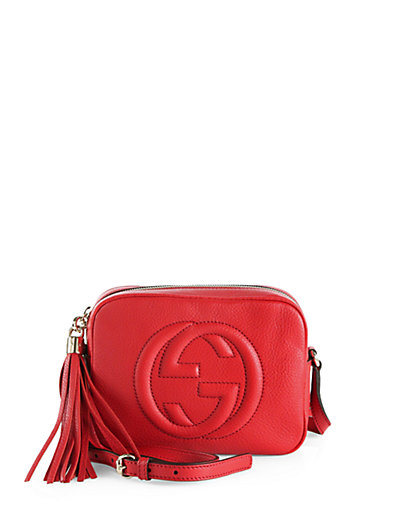 Gucci - Soho Leather Disco Bag - Saks.com