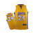 NBA Lakers Kobe Bryant #24 Yellow Jersey Purple White