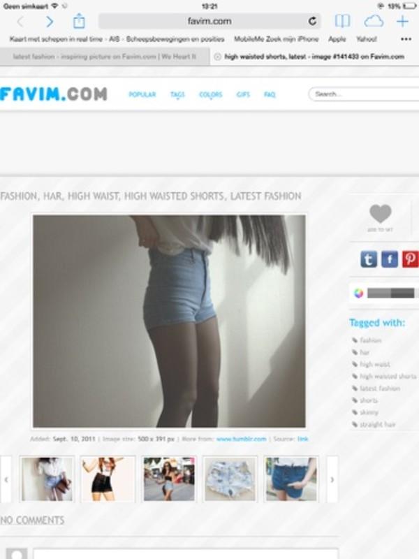 shorts demin