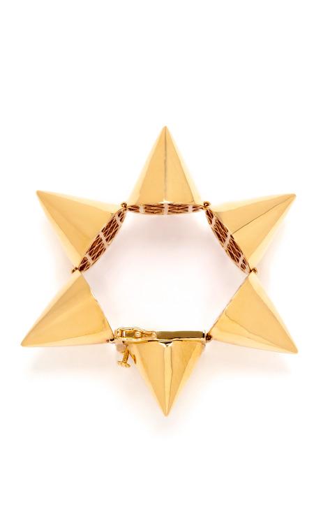 Interlocking Cone Tension Bracelet by Eddie Borgo - Moda Operandi