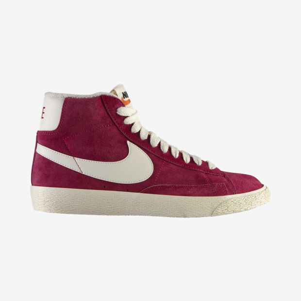 Nike Store Italia. Scarpa media in pelle scamosciata Nike Blazer Vintage - Donna