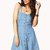 Polka Dot Chambray Dress | FOREVER21 - 2036510256