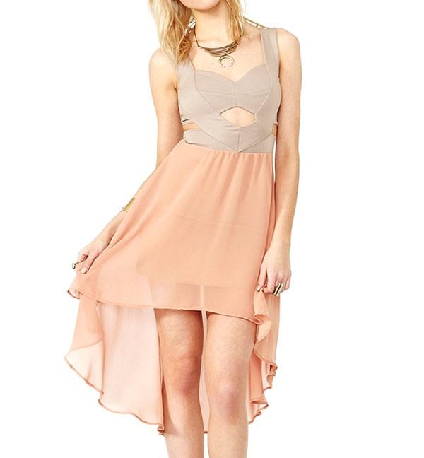 bodycon dress pastel dress pretty stylemoi fabulous dress