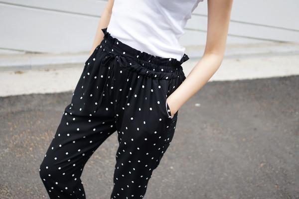 dot pant polka dots pants