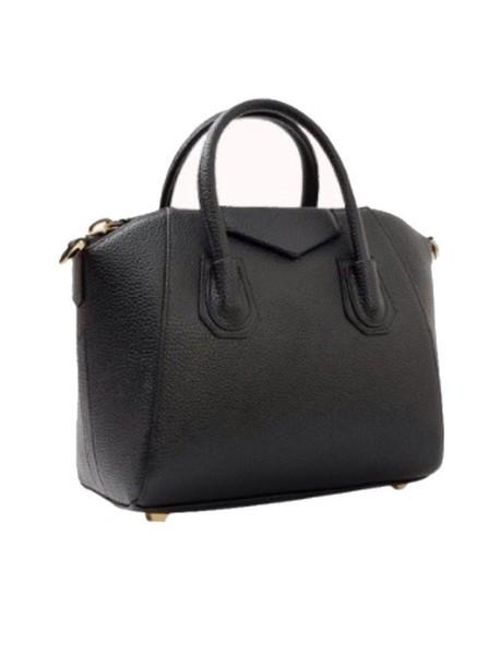 bag black bag tote bag handbag leather bag