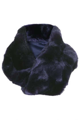 Lux Twist Fur Snood - New In This Week  - New In  - Topshop