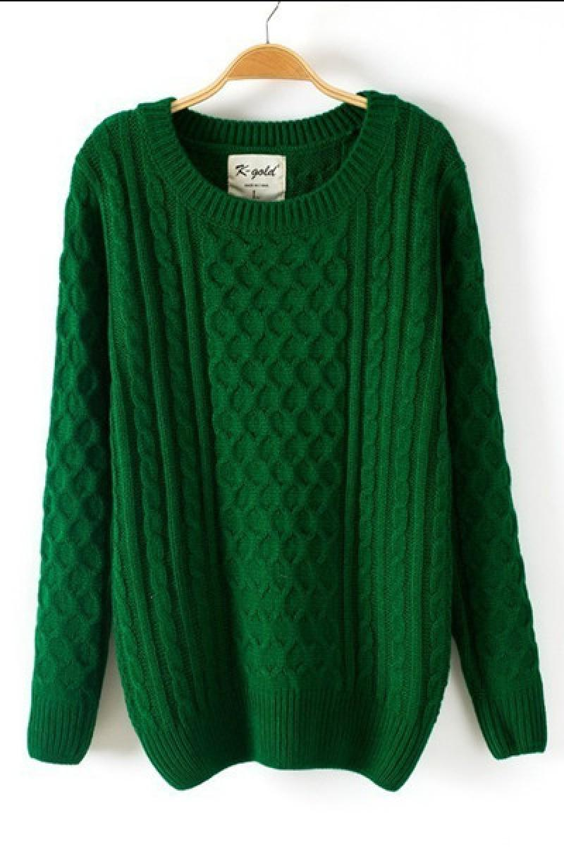 Autumn&Winter New Big Size Cony Hair Sweater/Knitting Cardigan,Cheap in Wendybox.com