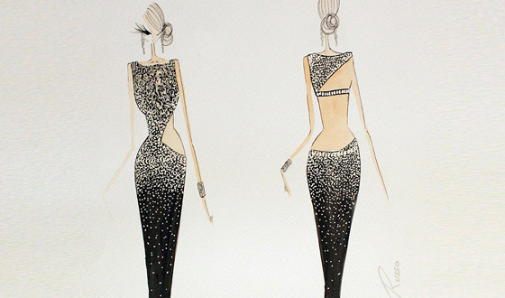 Harrods one-of-a-kind: Ralph & Russo Swarovski Couture Gown