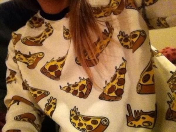 sweater pizza