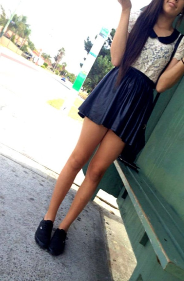dress peter pan collar lace skirt crop tops shoes blouse