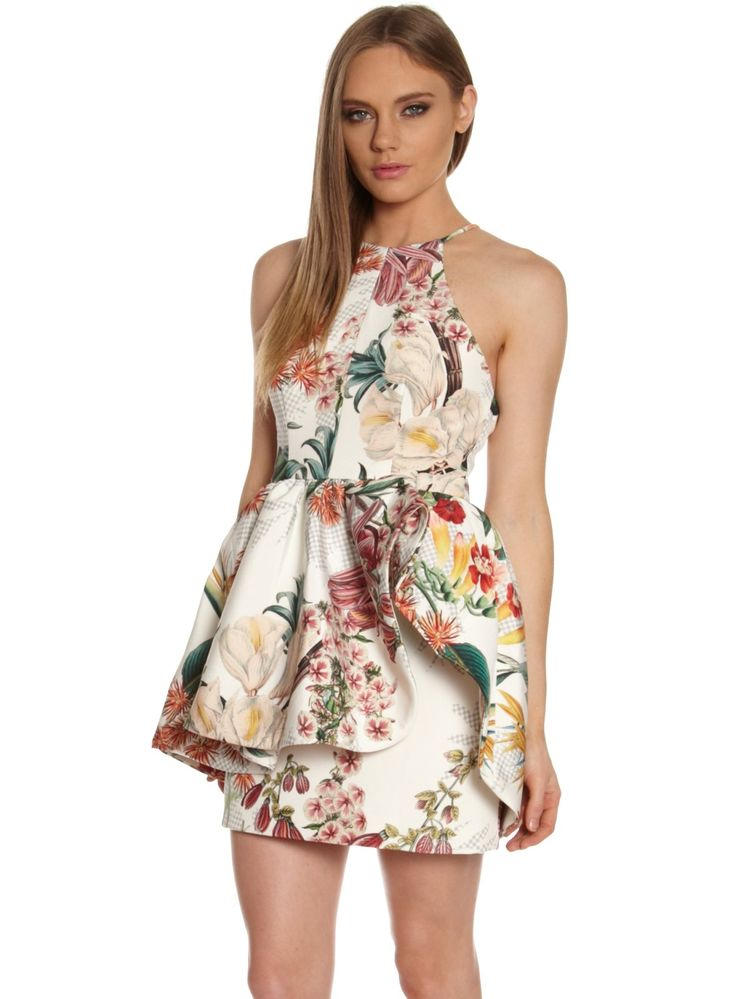 Cameo Winter Winds Botanical Exclusive Print Dress SZ M 10 RRP $ 249 95 | eBay