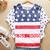 Fahion camisas de t! Caliente estilo de chica de moda las mujeres usa bandera t camisa suelta estilo
