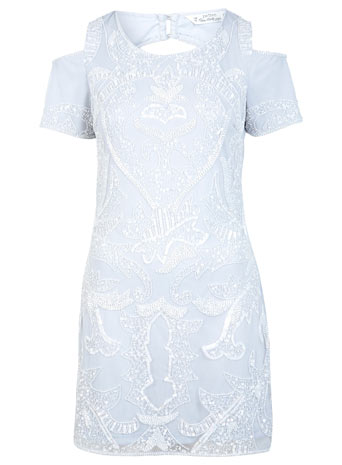 Petites Cold Shoulder Dress - View All  - Petites  - Miss Selfridge