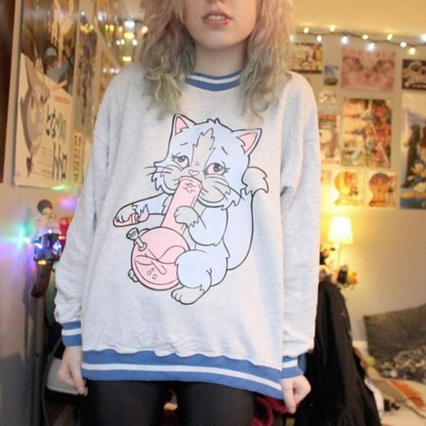 sweater cat sweater