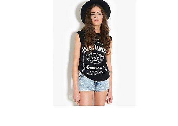 BLONDE & BLONDE Jack Daniels T-Shirt - BANK Fashion