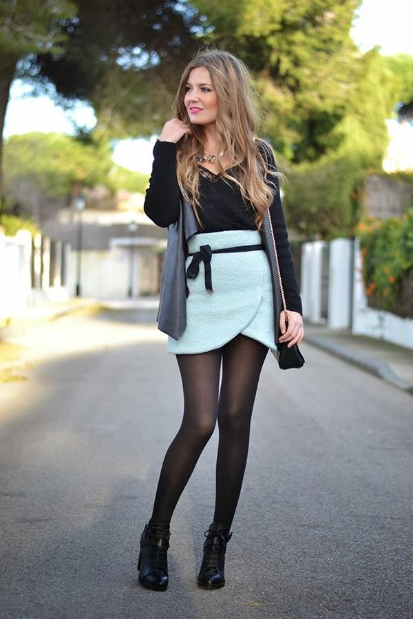 skirt Choies flower skirt spring outfits sweet skirt