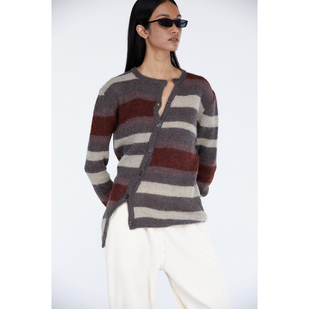 Victoria by Victoria Beckham Combo Striped Tunic Dress - Bergdorf Goodman