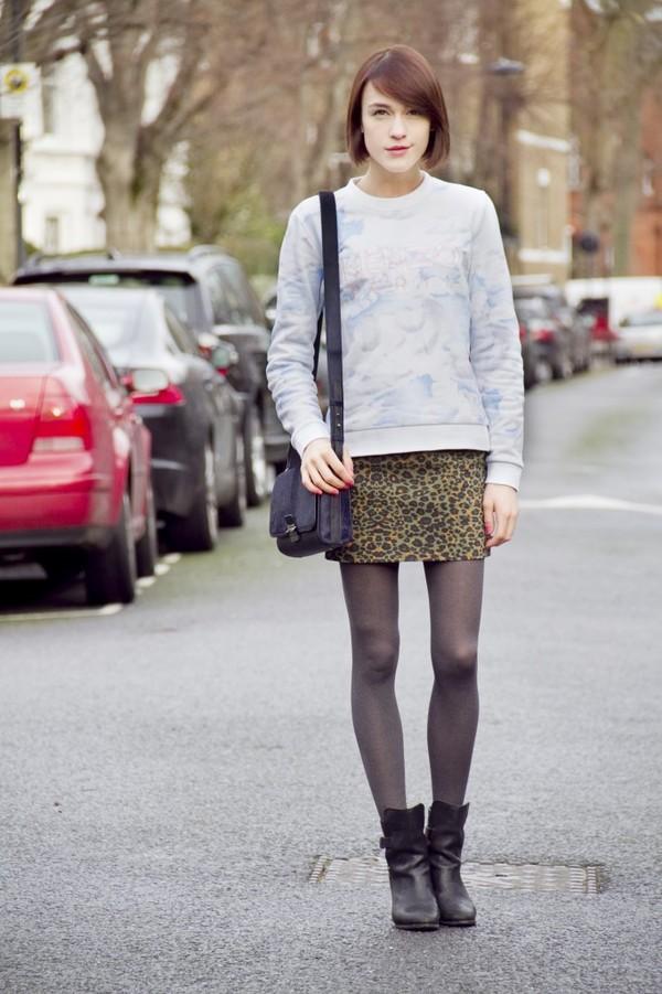 la petite anglaise sweater skirt shoes bag