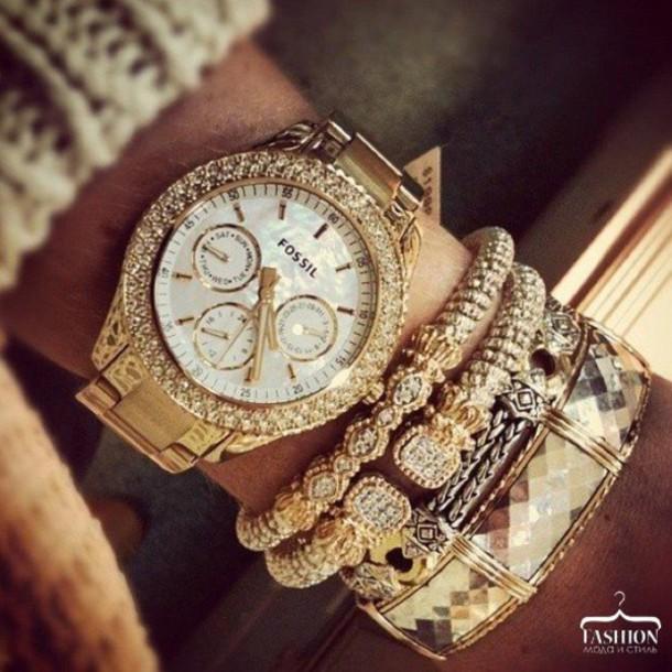 jewels gold jewelry bracelets gold bracelet fossil