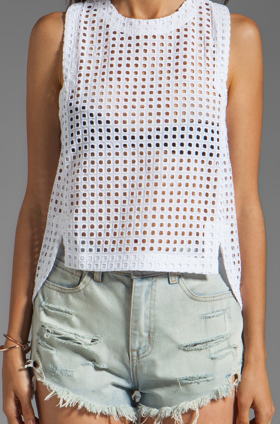 Funktional Chamber Tank in White | REVOLVE