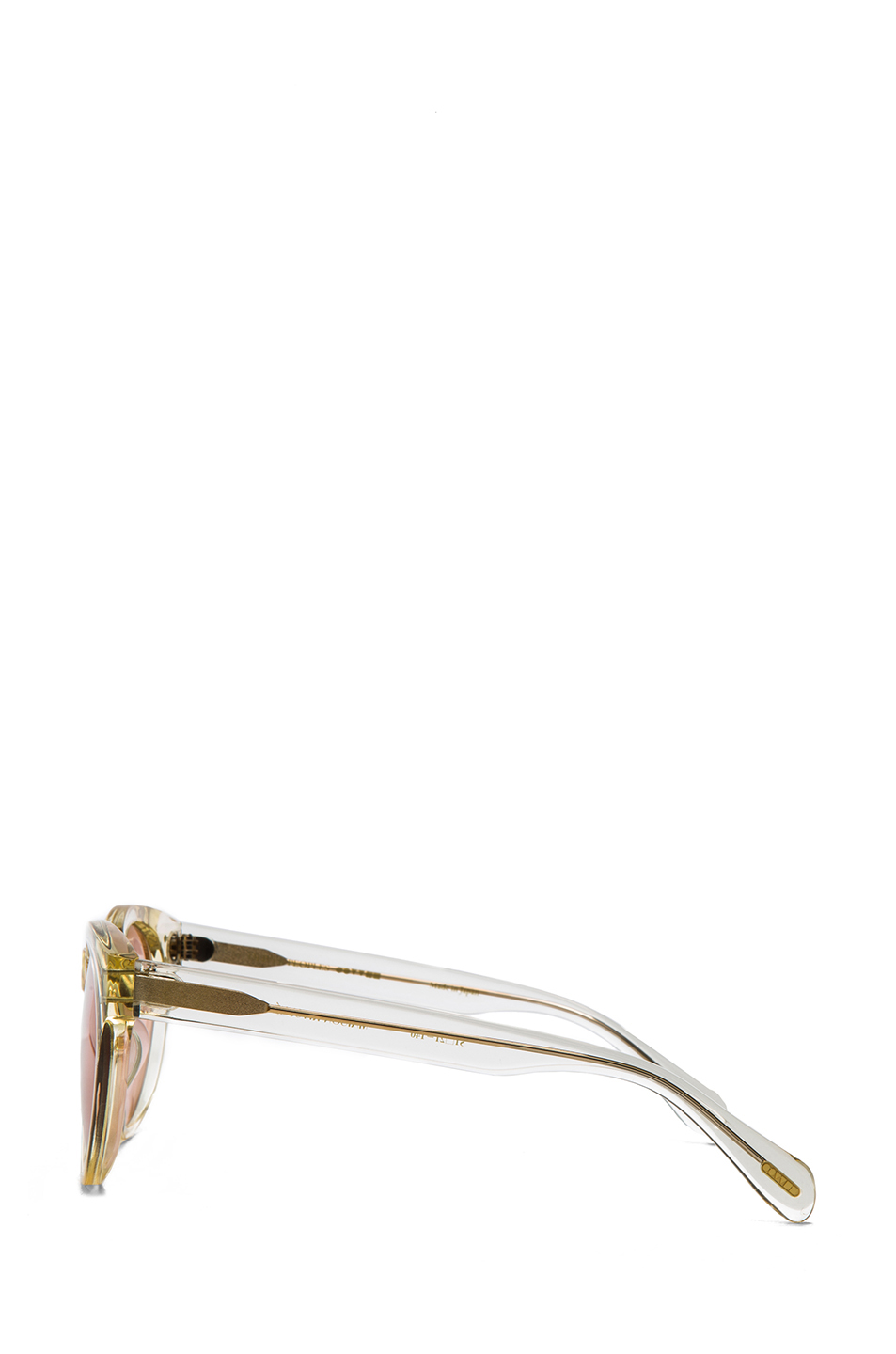 Oliver Peoples for Maison Kitsune Paris Sunglasses in Buff