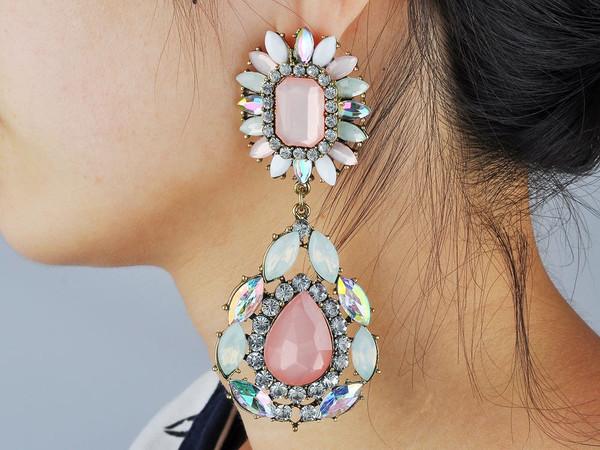 jewels statement rhinestones earrings statement earrings