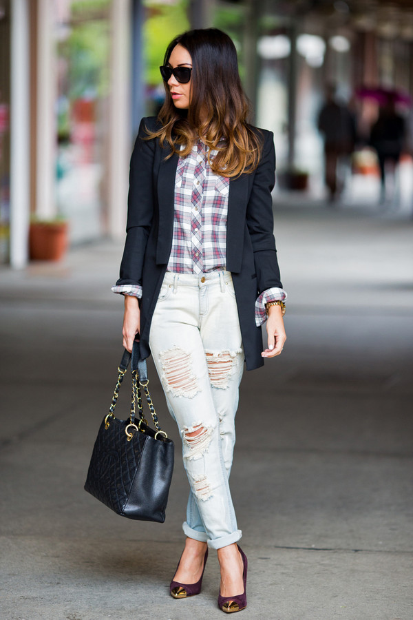 cashmere in style jacket shirt jeans shoes bag sunglasses