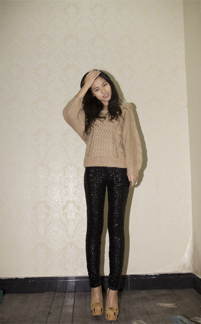 Free shipping  womens 2012 fashion Ladies shiny Gold Black Sequin Embossed High Quality Spangle Glitter Leggings legging-in Socks & Hosiery from Apparel & Accessories on Aliexpress.com