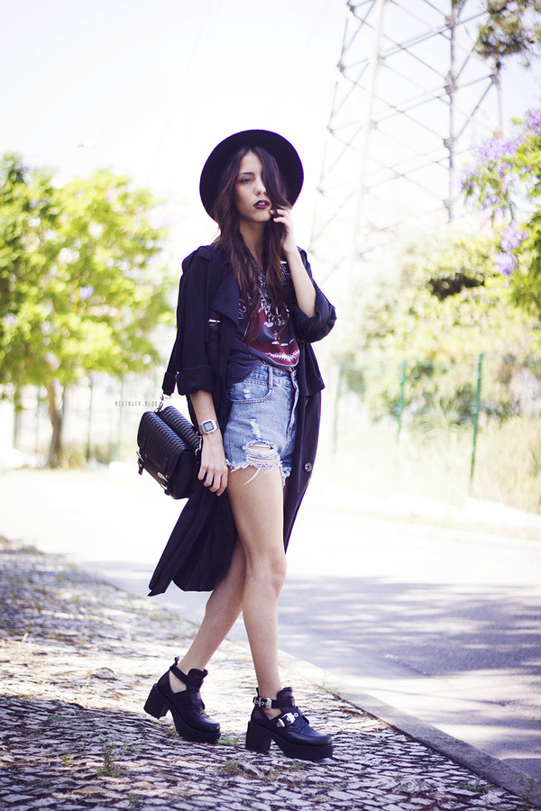 mexiquer coat top jewels shorts shoes