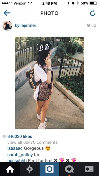 dress white shirt dress kylie jenner jersey dress
