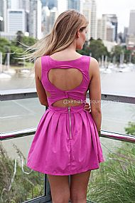 HEART CUT OUT DRESS , DRESSES, TOPS, BOTTOMS, JACKETS & JUMPERS, ACCESSORIES, SALE, PRE ORDER, NEW ARRIVALS, PLAYSUIT, COLOUR,,BACKLESS,Purple Australia, Queensland, Brisbane