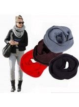 Chunky Infinity Scarf - Scarves - Accessories