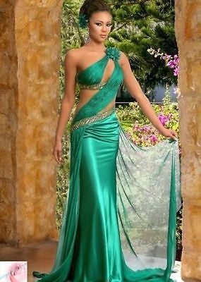 Sexy Bridal Party Evening Ball Formal Prom Cocktail Dresses Wedding Gown Custom | eBay