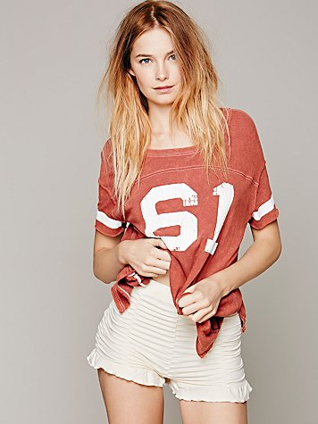 Intimately  Ruched Seamless Shorts at Free People Clothing Boutique