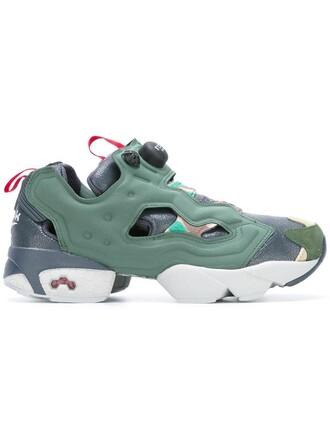 women sneakers green shoes
