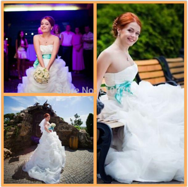 dress wedding dress white bridal gowns ruffles wedding dress elegant wedding dress