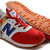 Women's new balance ML574 Road to London 2012 Olympic pack Red White Blue Shoes