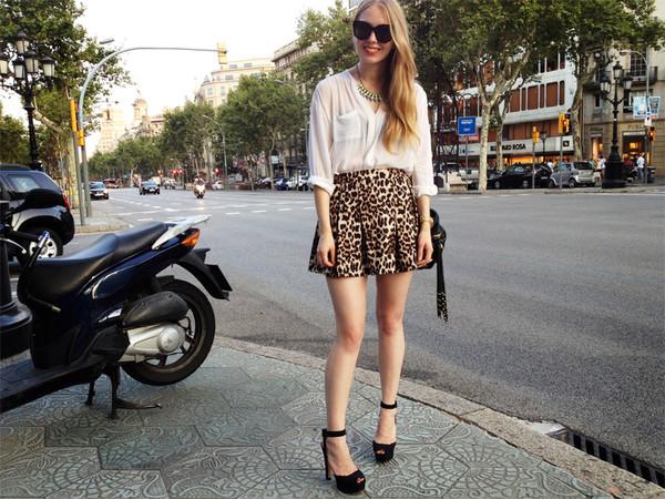 skirt leopard print streetstyle glamour magazine mini skirt skirt high waist skirts high waist skirt leopard print high end high street style