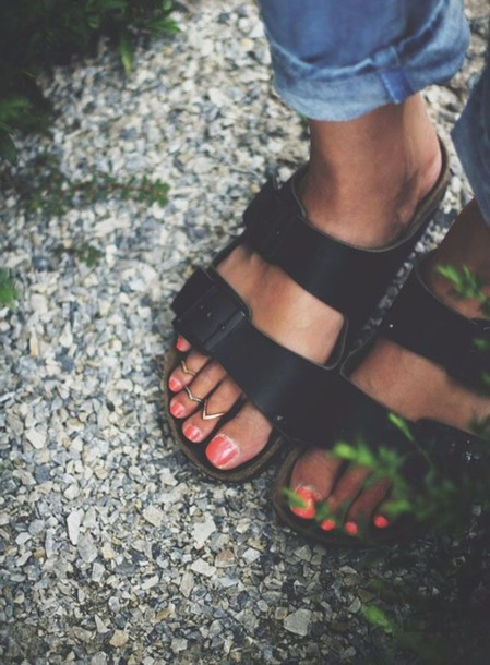 shoes sandals toe ring jewels