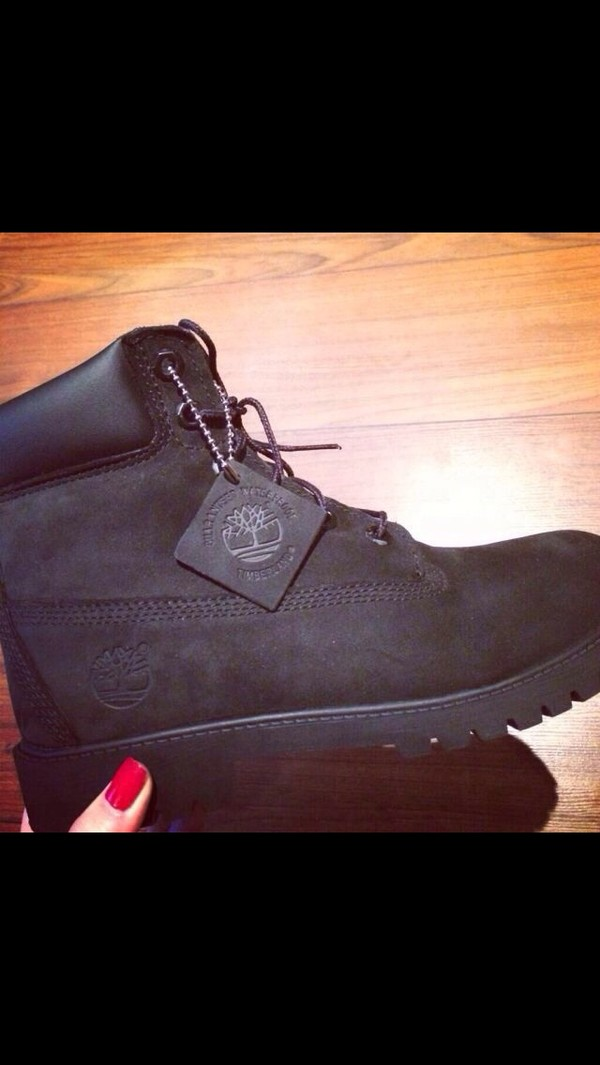 shoes timberlands black timberlands