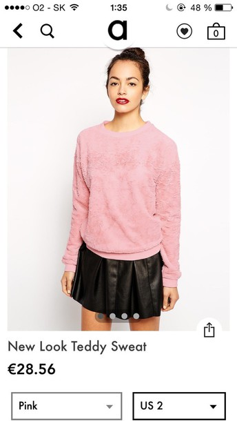 sweater fluffy asos