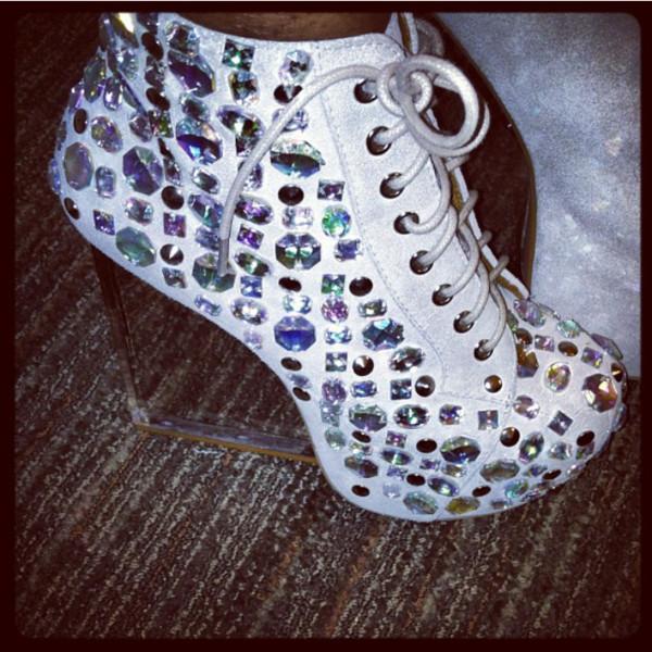shoes high heels white high heels wedges